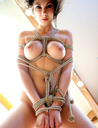 Model connie carter in bondage